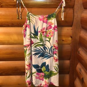 Tropical billabong dress